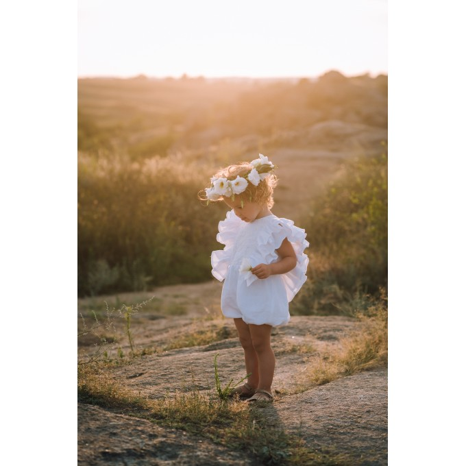 First birthday boho outfit for baby girl